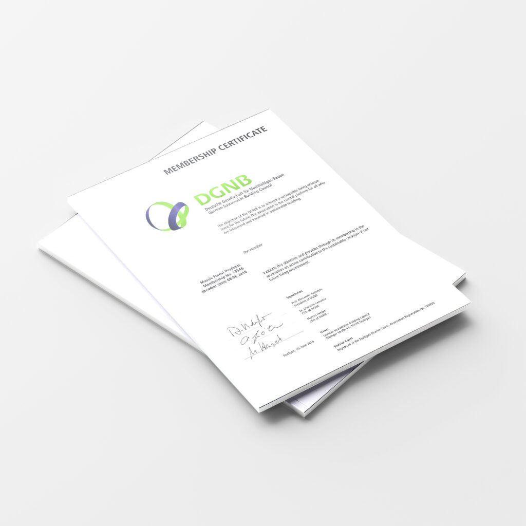 DGNB Certificate